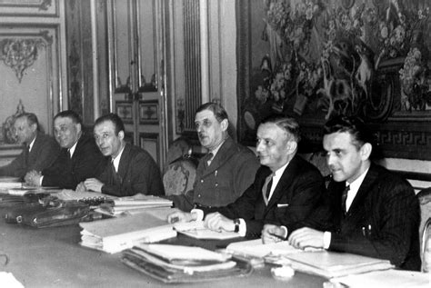 Cabinet meeting of the Provisional Government of the