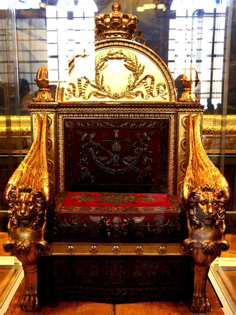 Ornate Throne at Versailles   The Palace of Versailles is