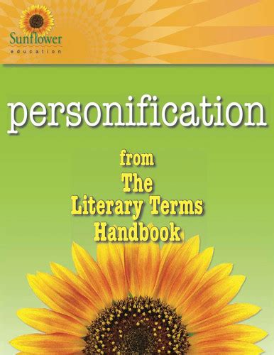 Literary Terms: PERSONIFICATION | Sunflower Education