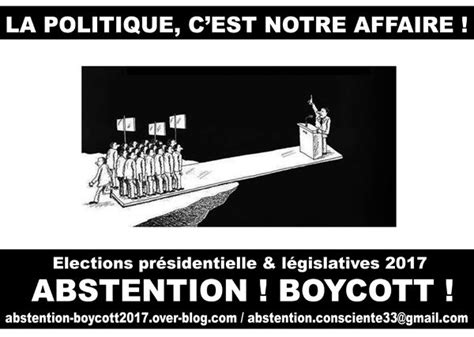 1 - Nos objectifs - Abstention/Boycott Elections 2017