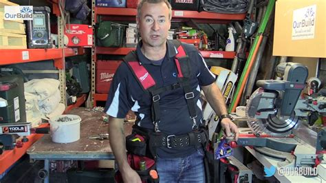 Milwaukee Contractor Work Belt with Suspension Rig - YouTube