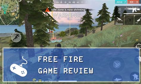 Garena Free Fire Mobile Game Review (IOS/Android) - Gaming