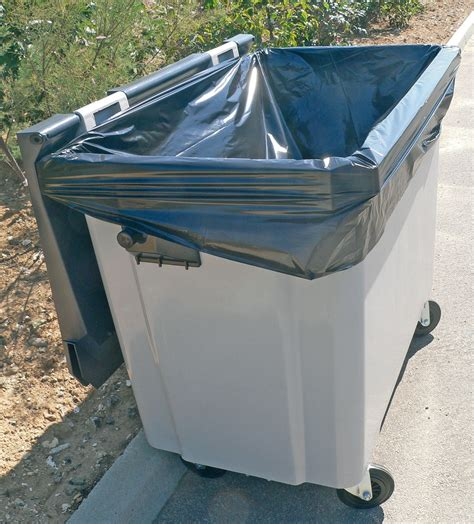 Garbage bag with container cover 660 L
