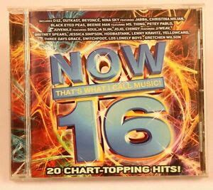 Now Thats What I Call Music 16 CD 2004 EMI Records Virgin