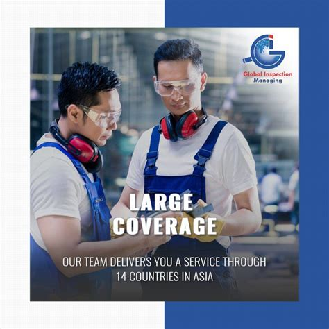 You can hire GIM for any Asian company #Inspection & get