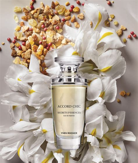 Accord Chic Yves Rocher perfume - a new fragrance for