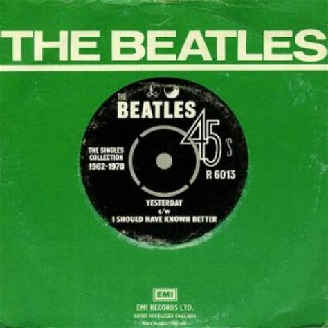 Yesterday : The Beatles : paroles, traduction, histoire