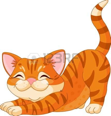 Ginger cat clipart - Clipground