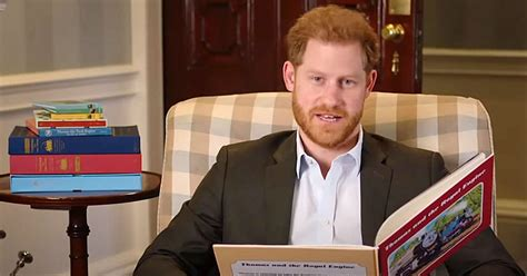 Prince Harry Introduces Special Episode of 'Thomas and