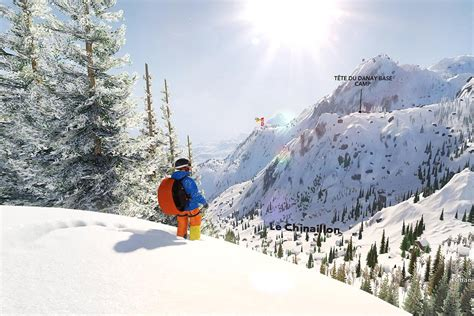 Steep is nothing like SSX, or any other blockbuster game