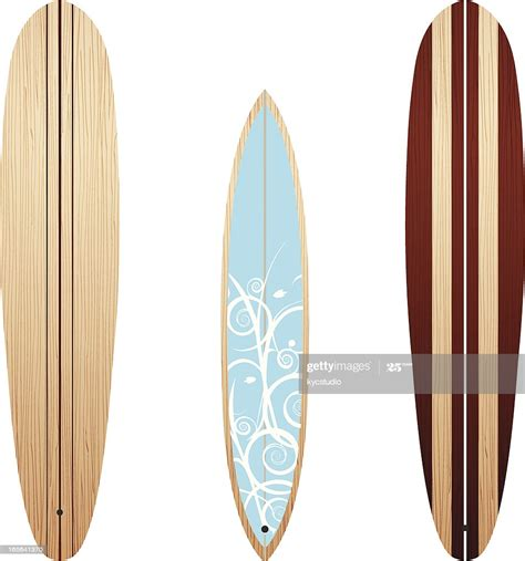 Wooden Longboards High-Res Vector Graphic - Getty Images