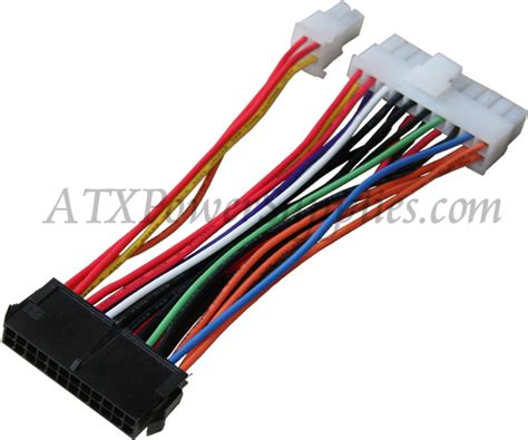 Small 24 Pin to 20 Pin ATX Converter Adapter for HP Slimline